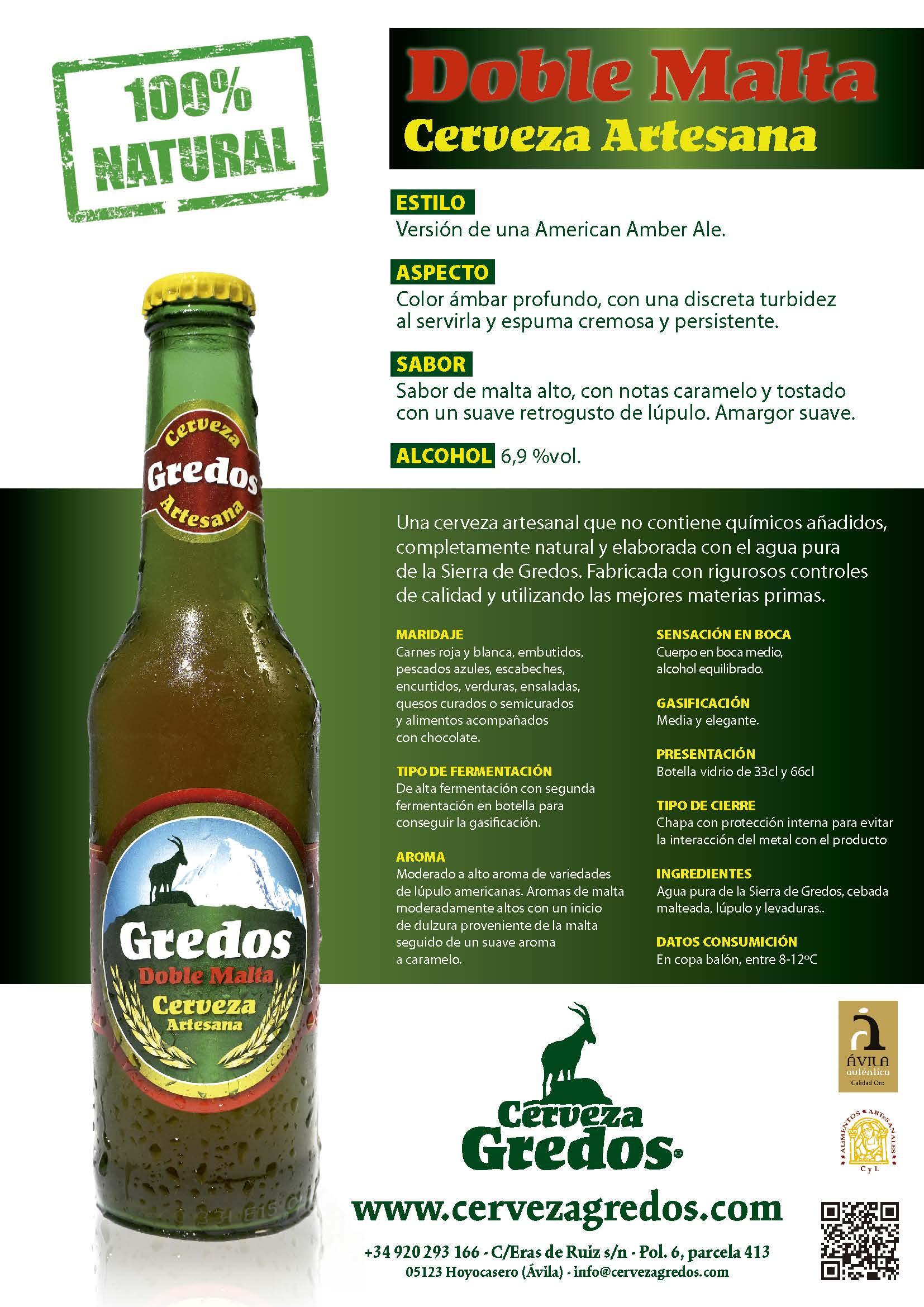 cerveza gredos cerveza artesanaa