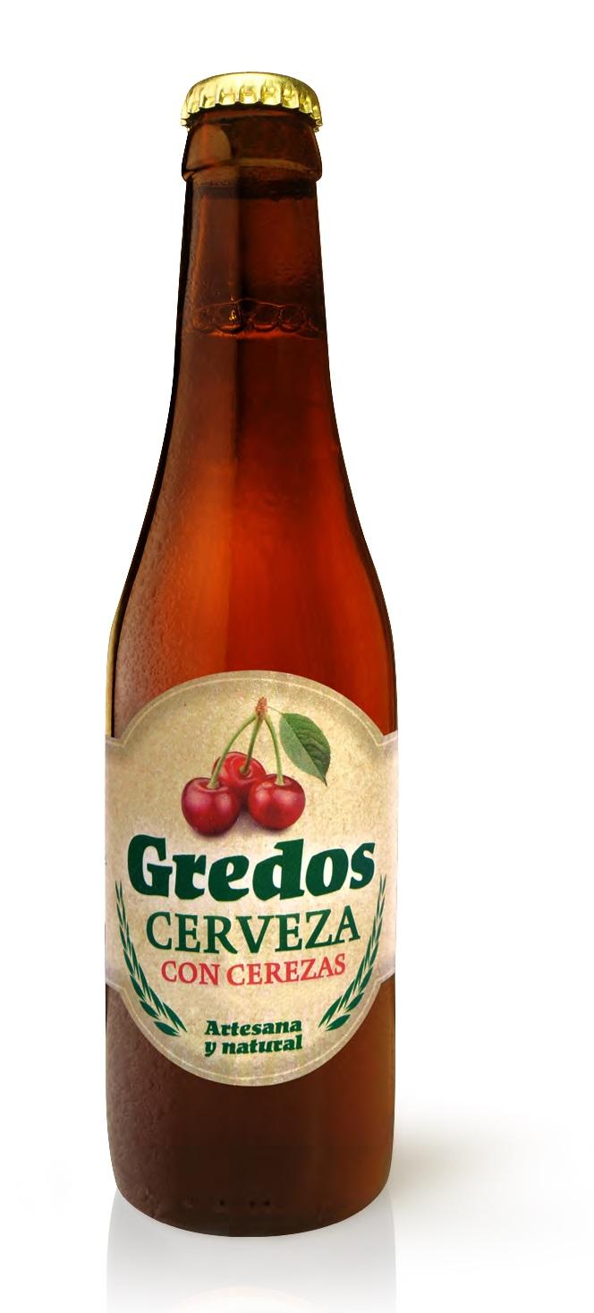 Cerveza artesana con cerezas Ávila Cerveza Gredos
